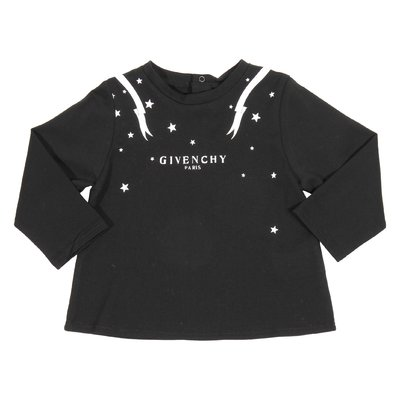 Black vintage logo cotton jersey t-shirt