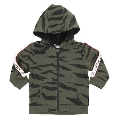 Camouflage military green cotton sweatshirt hoodie