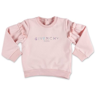 Givenchy pink cotton sweatshirt