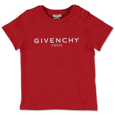 Givenchy red cotton jersey t-shirt