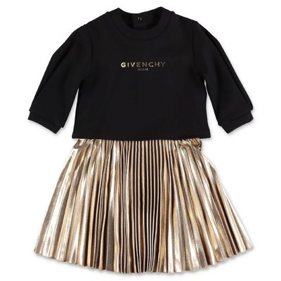 Givenchy viscose blend two piece set with dress and sweatshirt