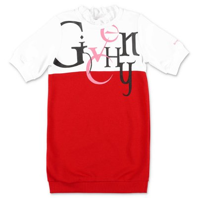 Givenchy red & white cotton t-shirt dress