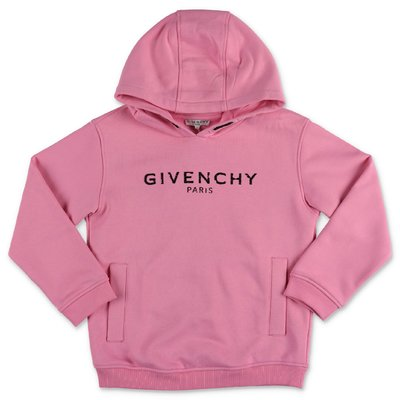 Givenchy pink Vintage logo cotton hoodie