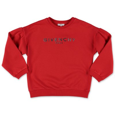 Givenchy logo Vintage red cotton sweatshirt