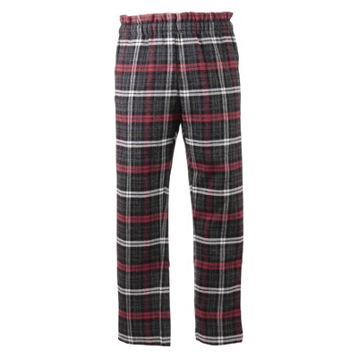 Tartan linen & virgin wool pants