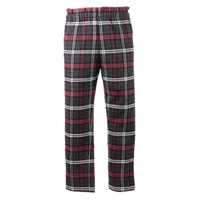 Pantaloni tartan in lino e lana vergine