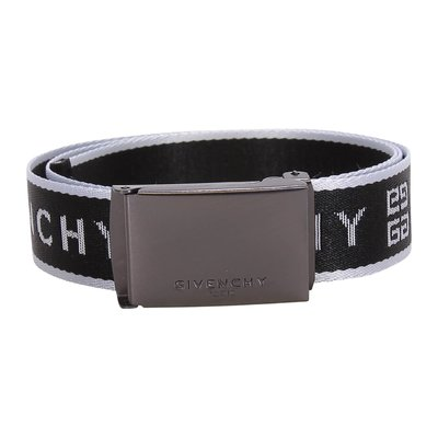 Givenchy logo detail nylon belt