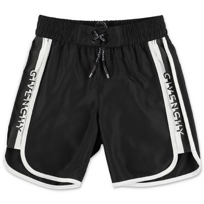 Givenchy costume shorts da mare neri in nylon