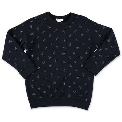 Bonpoint navy blue Iconic print cotton sweatshirt