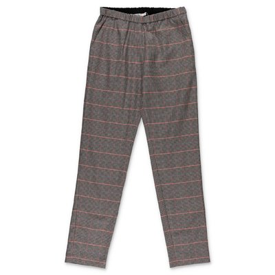 Bonpoint houndstooth cotton pants