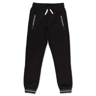 Givenchy black cotton sweatpants