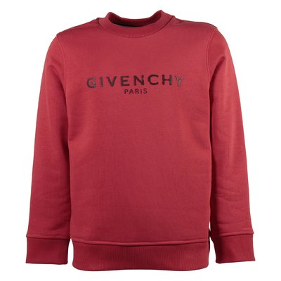 Red vintage logo cotton sweatshirt