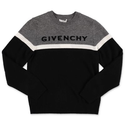Givenchy black wool & cashmere knit jumper