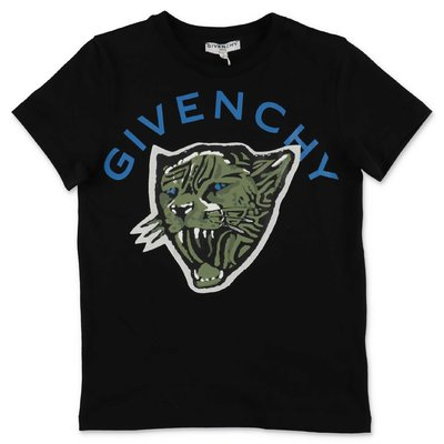 Givenchy t-shirt nera in jersey di cotone