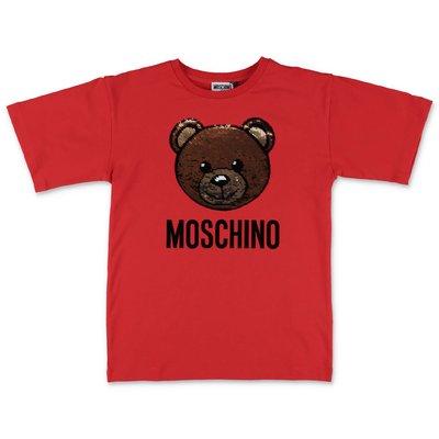 Moschino t-shirt rossa