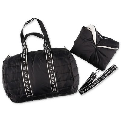 Givenchy black nylon changing bag