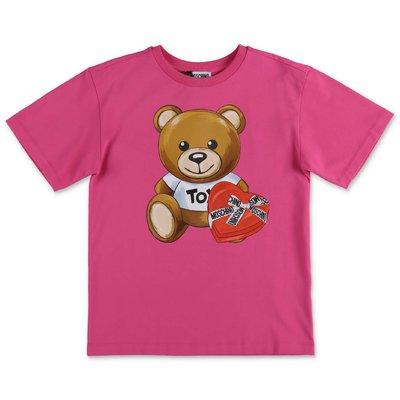 Moschino t-shirt fucsia