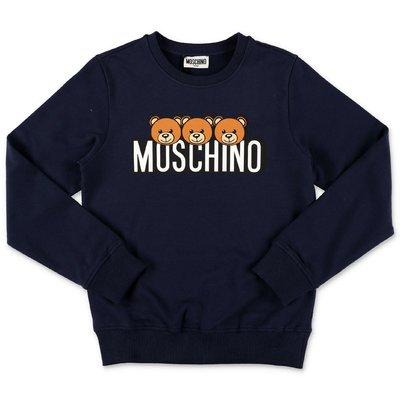 Moschino felpa blu navy