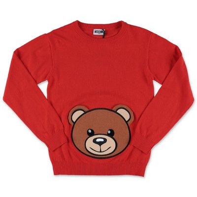 Moschino pullover rosso