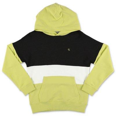 Calvin Klein color block cotton & modal hoodie
