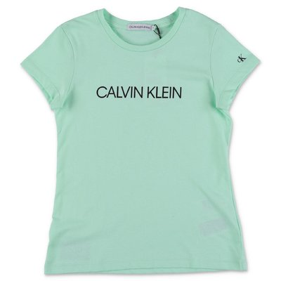 Calvin Klein green cotton jersey t-shirt