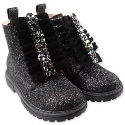 Florens black glittery boots