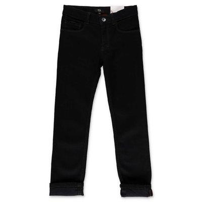 Hugo Boss black stretch cotton denim jeans