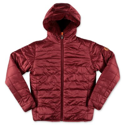 Save the Duck red reversible jacket with hood