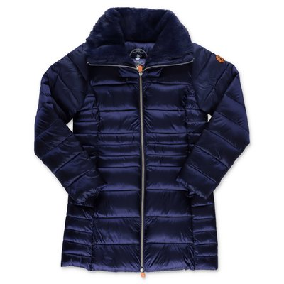 Save the Duck blue nylon down jacket