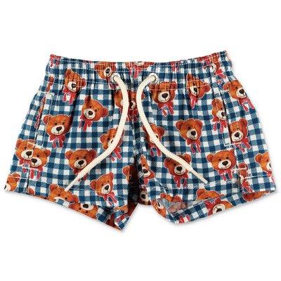 MC2 Saint Barth shorts da mare check in cotone