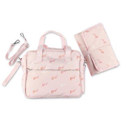 Kenzo pink nylon changing bag