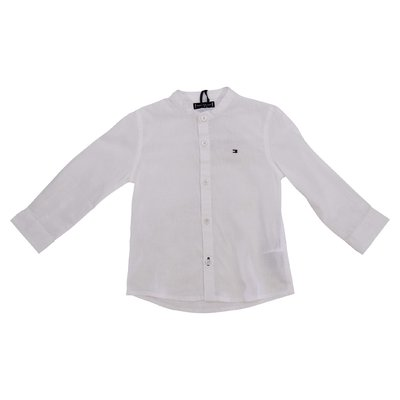 Tommy Hilfiger white cotton linen shirt