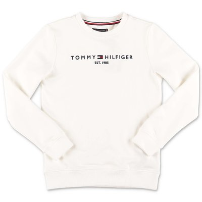 Tommy Hilfiger white cotton sweatshirt