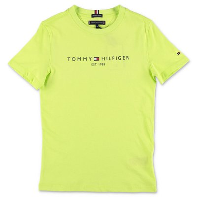 Tommy Hilfiger green cotton jersey t-shirt