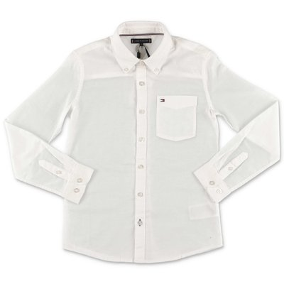 Tommy Hilfiger white cotton piquè shirt