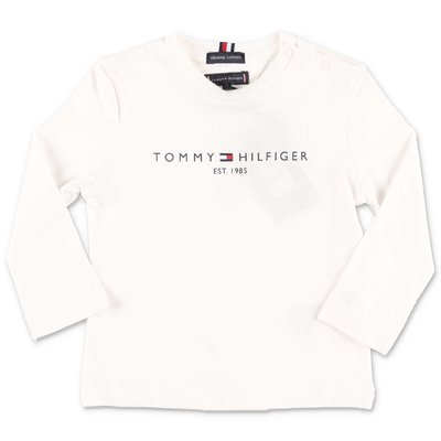 Tommy Hilfiger white organic cotton jersey t-shirt