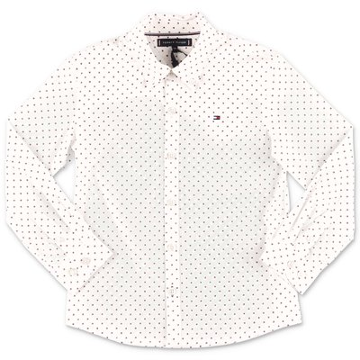 Tommy Hilfiger white cotton poplin shirt