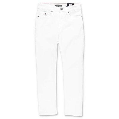 Tommy Hilfiger white stretch denim cotton jeans