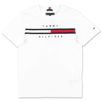 Tommy Hilfiger white cotton jersey t-shirt