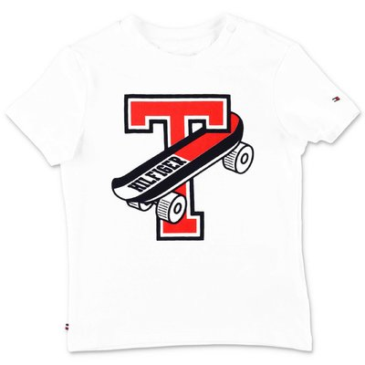 Tommy Hilfiger white cotton jersey t-shirt