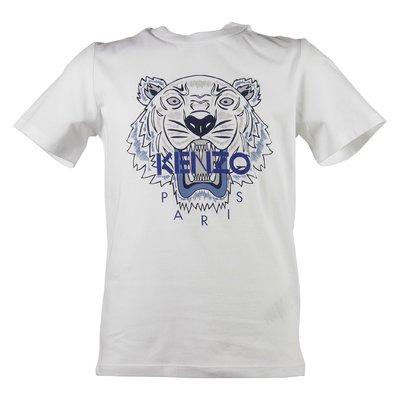 white Tiger boy cotton jersey t-shirt