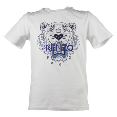 white Tiger boy cotton jersey t-shirt