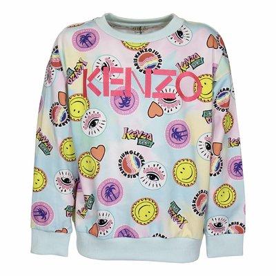 Multicolor printed cotton sweatshirt