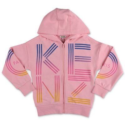 KENZO pink cotton hoodie