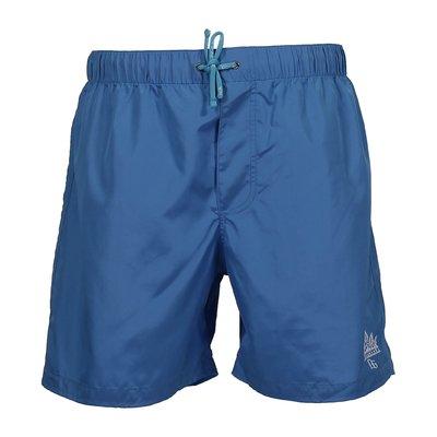 Light blue nylon swim shorts