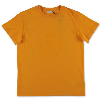 Dolce & Gabbana orange cotton jersey t-shirt