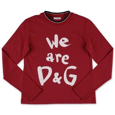 Dolce & Gabbana t-shirt rossa