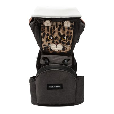 Dolce & Gabbana animalier nylon MiaMily carrier