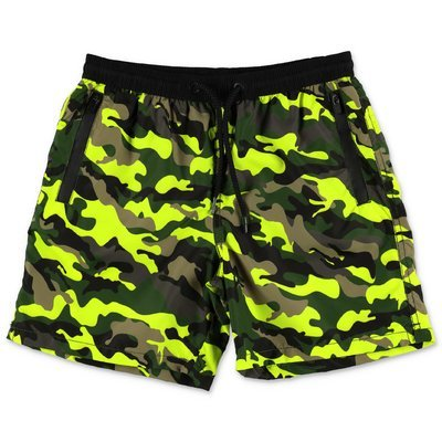 MC2 Saint Barth costume shorts da mare camouflage in nylon riciclato
