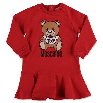 Moschino abito rosso